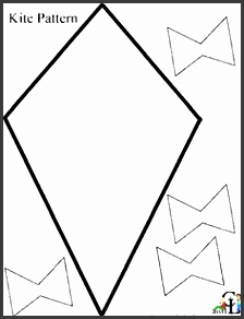 pin kite clipart template 8