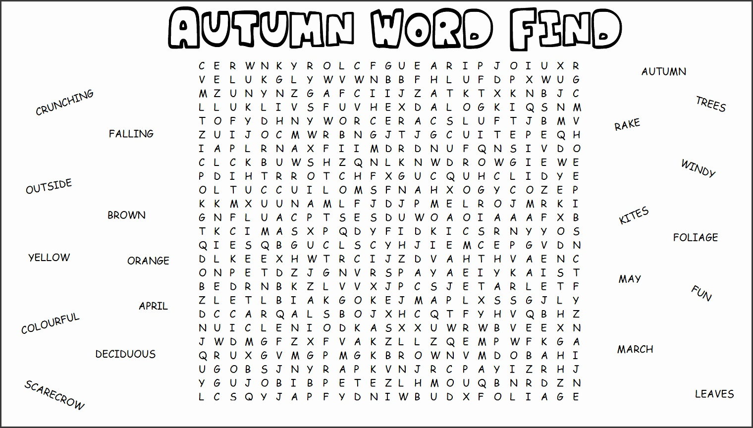 40 word search worksheets easy word search w through y worksheet education talkcsme