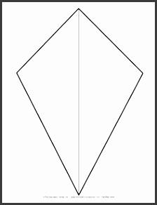 kite template for spring bulletin board