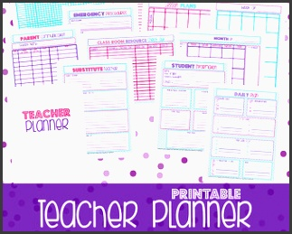 50 off printable teacher planner teacher planner teacher plan book teacher printables