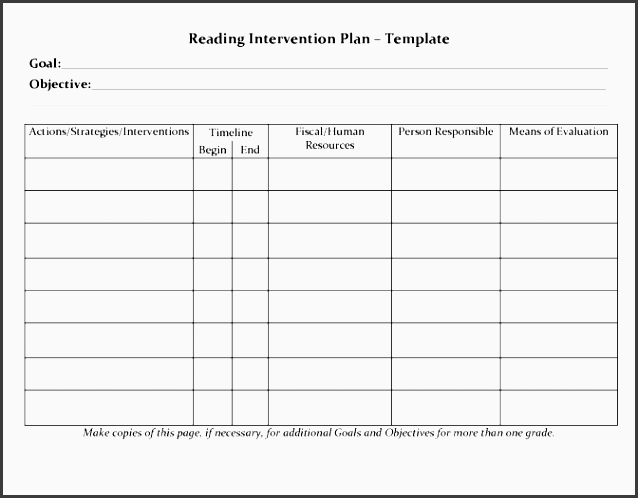 student planner templates reading intervention plan template free lesson plans for teachers 884e0d826c203a65ec1eb8fafb8 free printable lesson