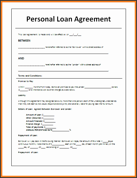 5 sample loan agreement letter between friends purchase agreement group