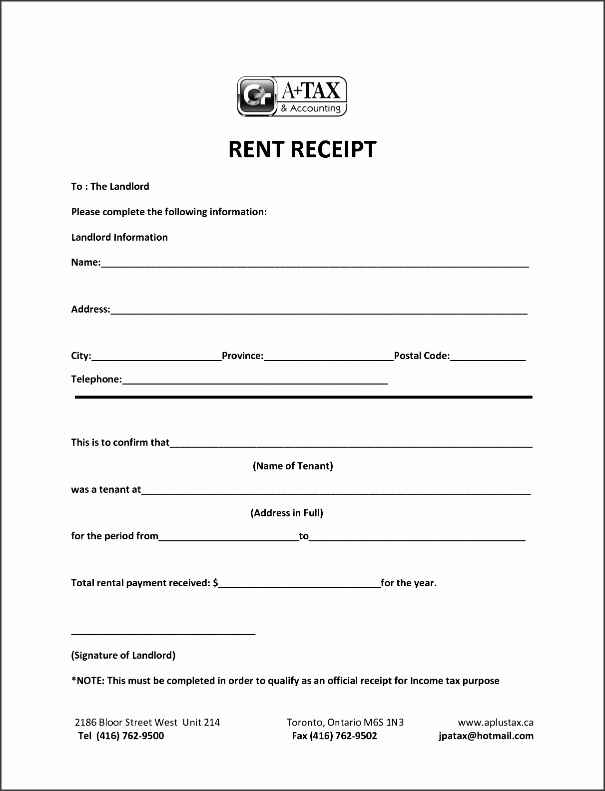 loan payment receipt template images templates design ideas