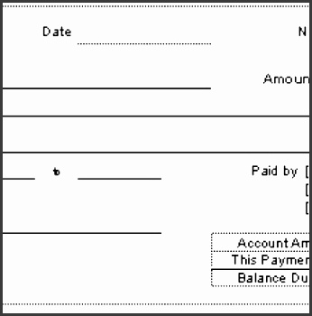 8 payment receipt templates