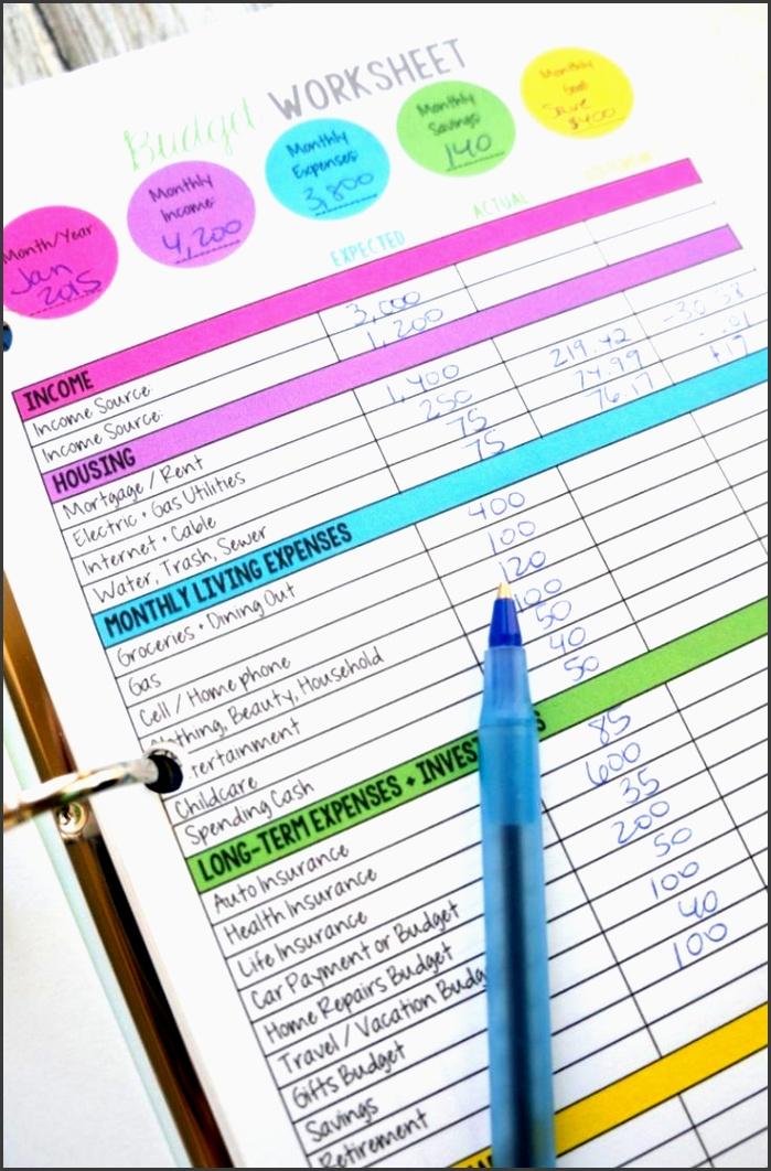family bud worksheet