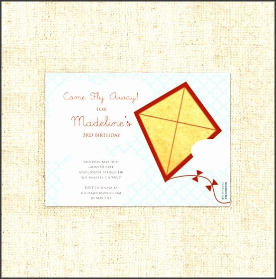 kite invitation template
