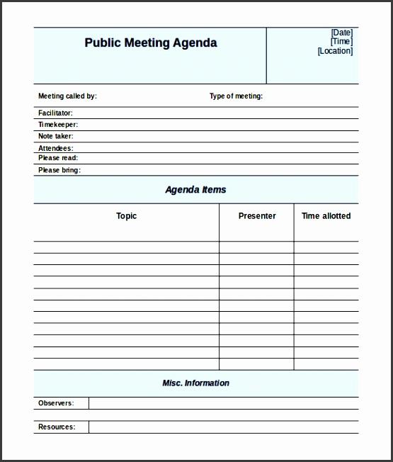 meeting agenda template free meeting agenda template 46 free word pdf documents