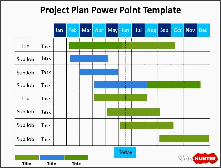 work plan presentation template project plan powerpoint template is a free presentation template