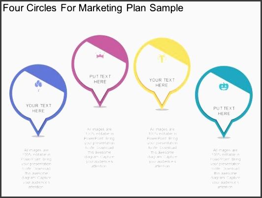four circles for marketing plan sample powerpoint template 1 four circles for marketing plan sample powerpoint template 2