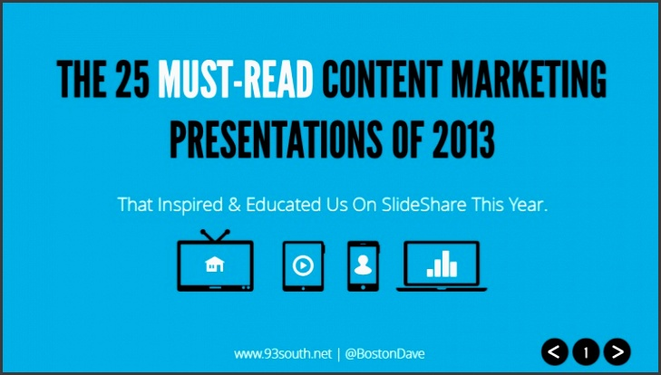 the 25 must read content marketing presentations of 2013