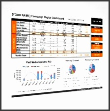 the 2016 campaign dashboard ms excel template
