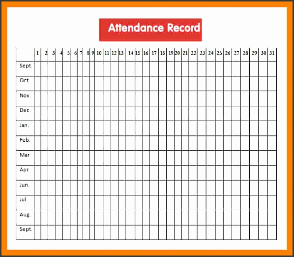 meeting attendance sheet