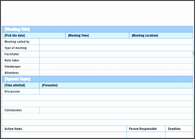 detailed meeting minutes word 2016