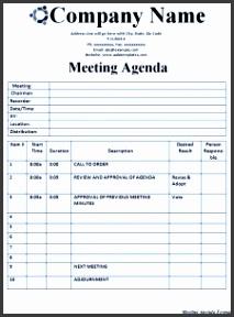 meeting agenda format 225x300