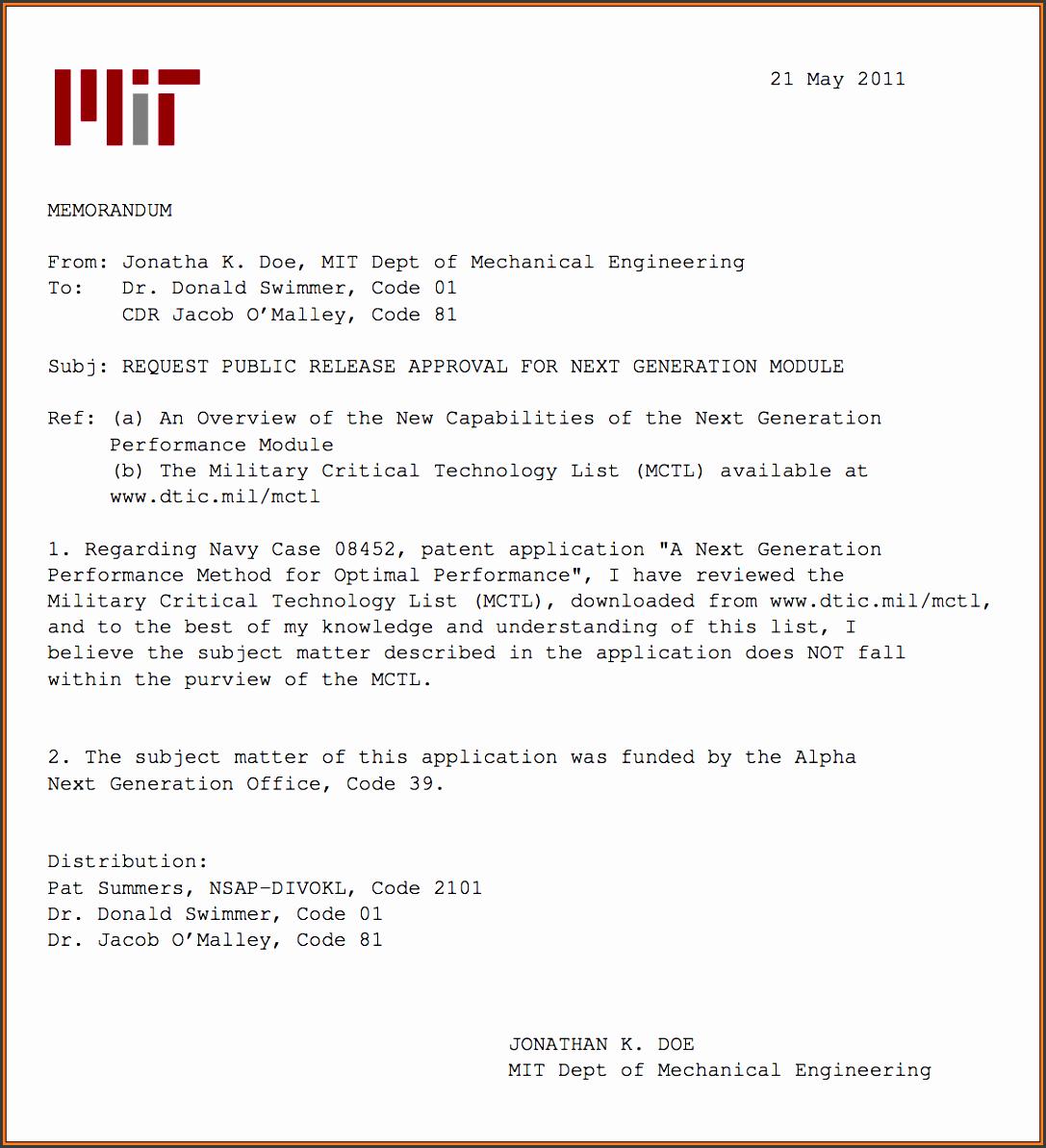 navy memorandum format xlatex navy memo