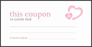 valentine 039 s day coupon template coupon templates regarding love coupon template