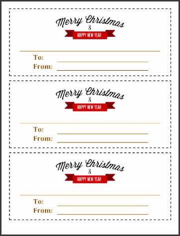 printable christmas ribbon template image