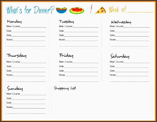 30 family meal planning templates weekly monthly bud weekly meal planner templatemeal