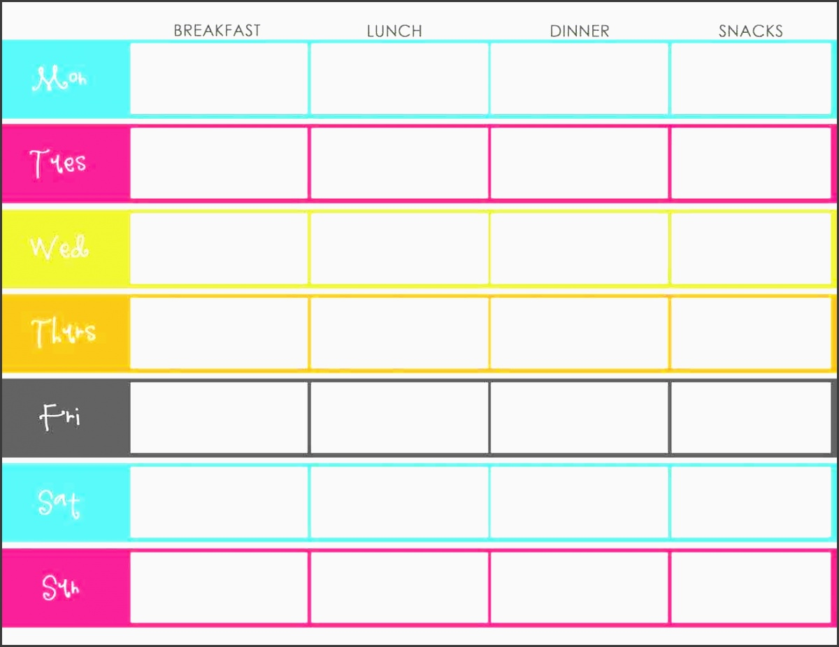 excel menu template valentine s day free meal planner monthly psd eps meal menu template excel