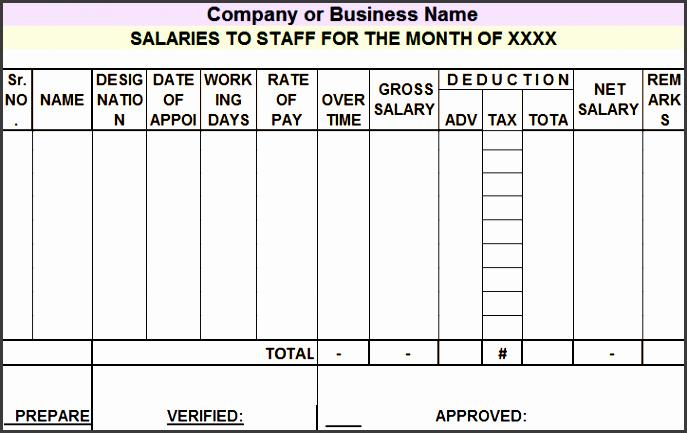 salary sheet1
