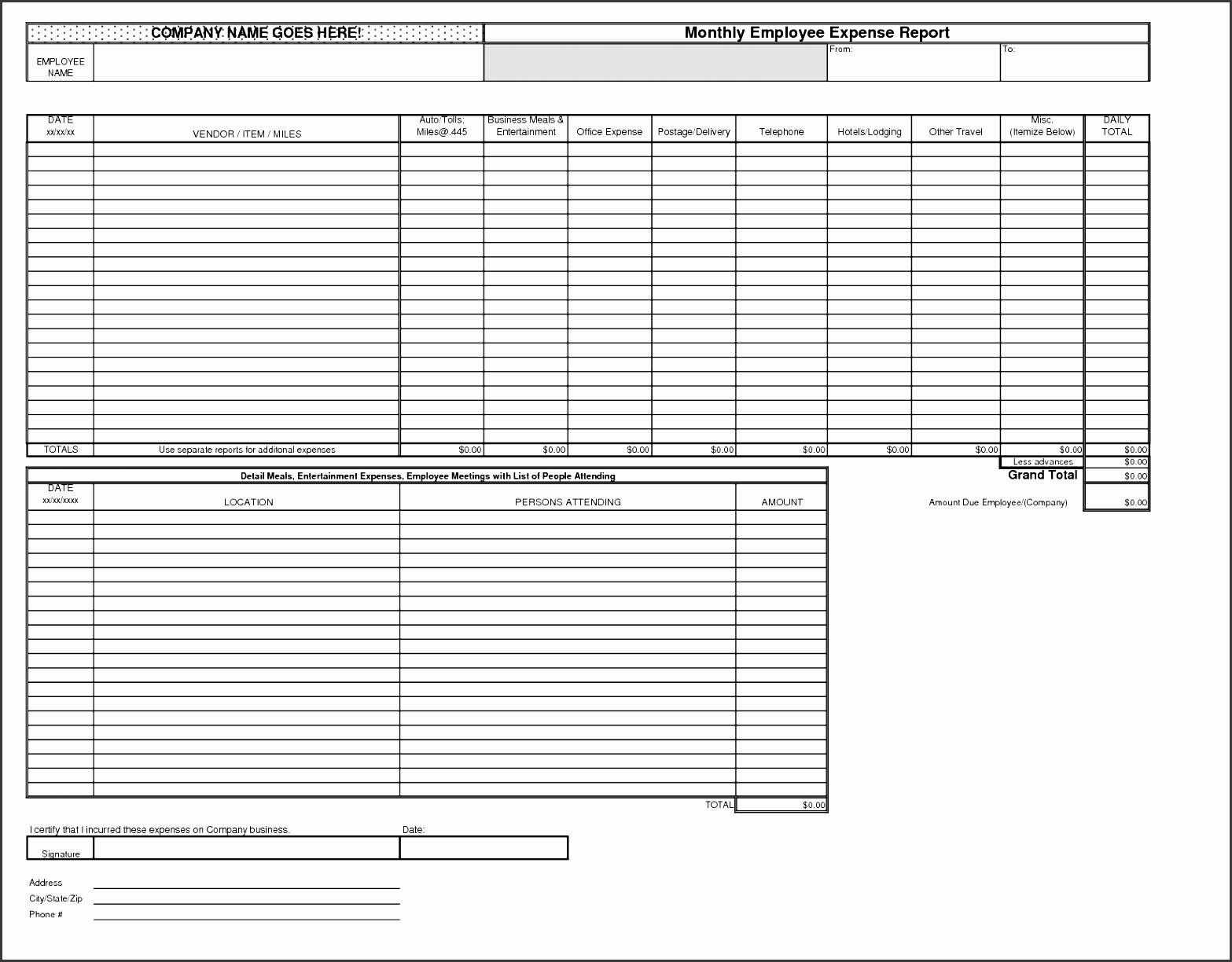 best photos monthly expense report excel business calculating the savings exactly like yearly