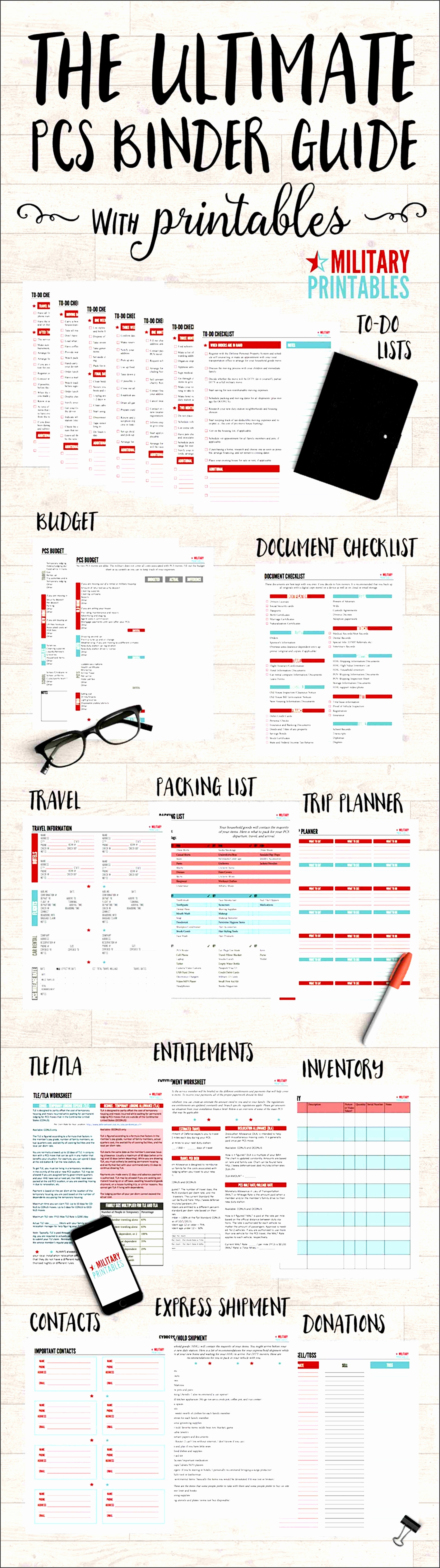 8 moving packing list template