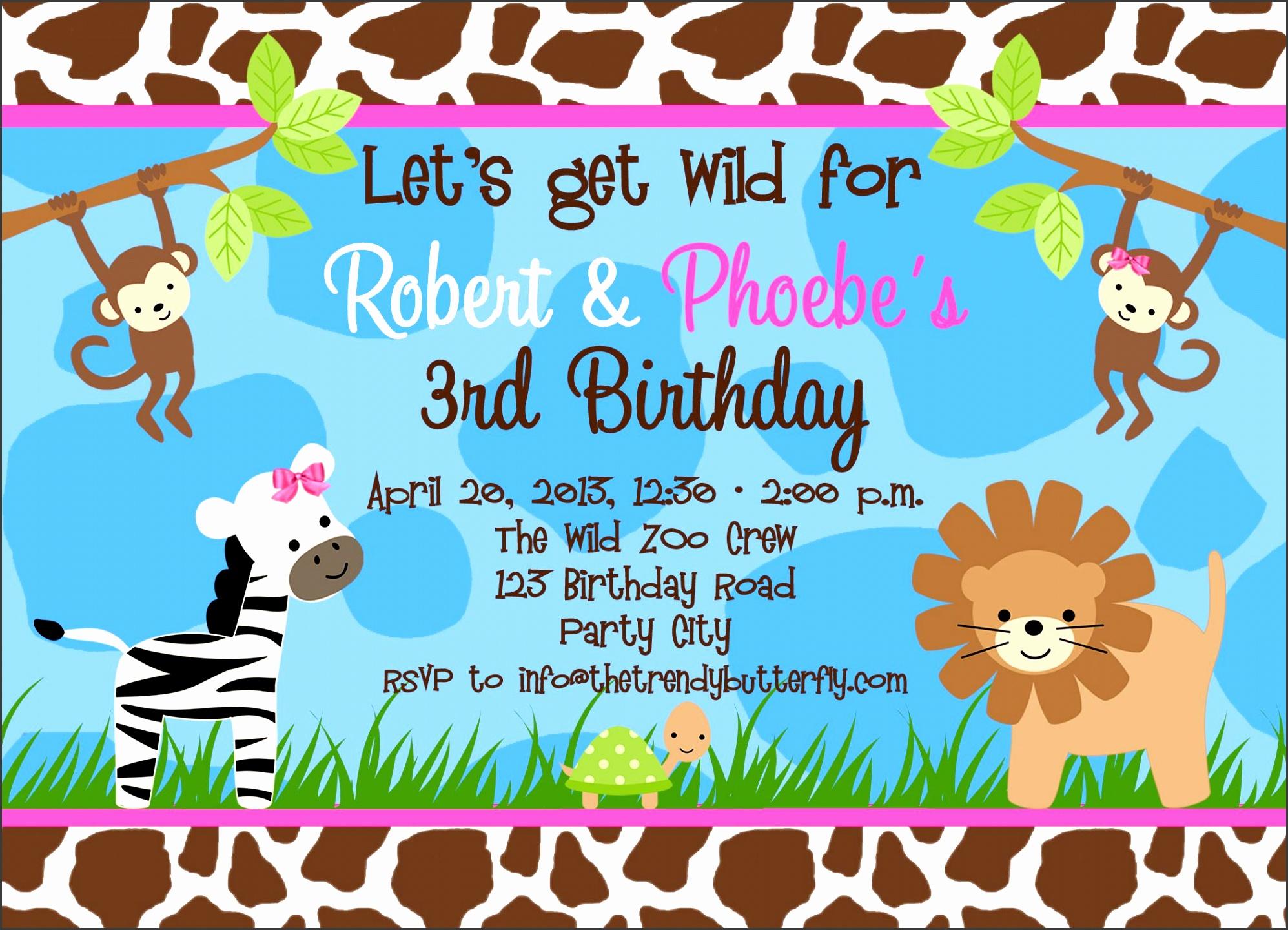 share on google birthday party invitation template