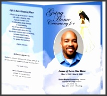 magnificent free obituary templates for microsoft word adoration printable funeral program template wisteria press