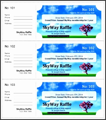 15 free raffle ticket templates follow these steps to create your own diy printable custom
