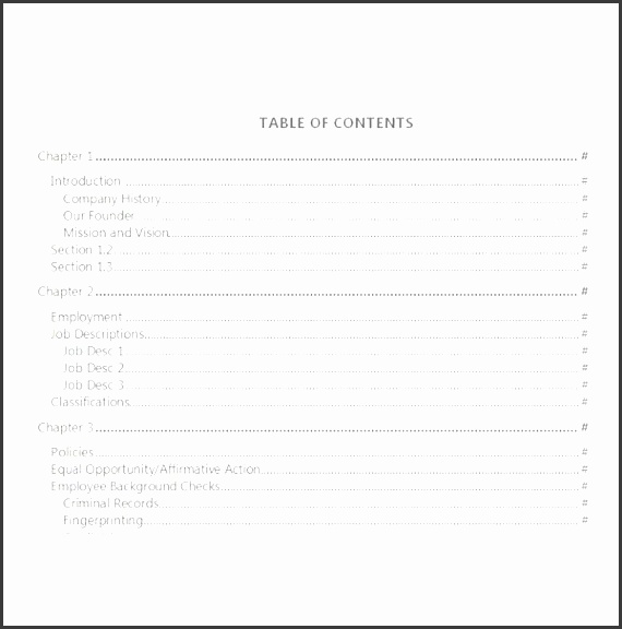 employment manual