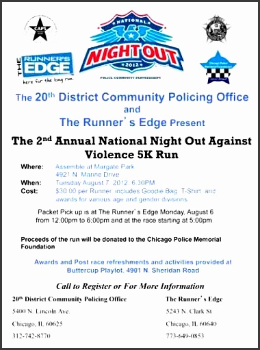 national night out flyer template best template idea within national night out flyer template 2334