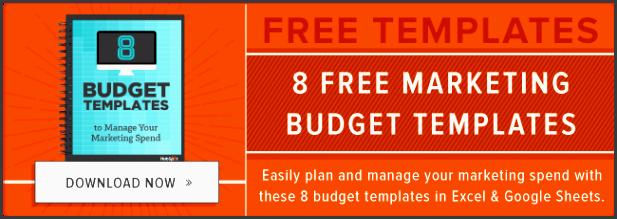 free marketing bud templates