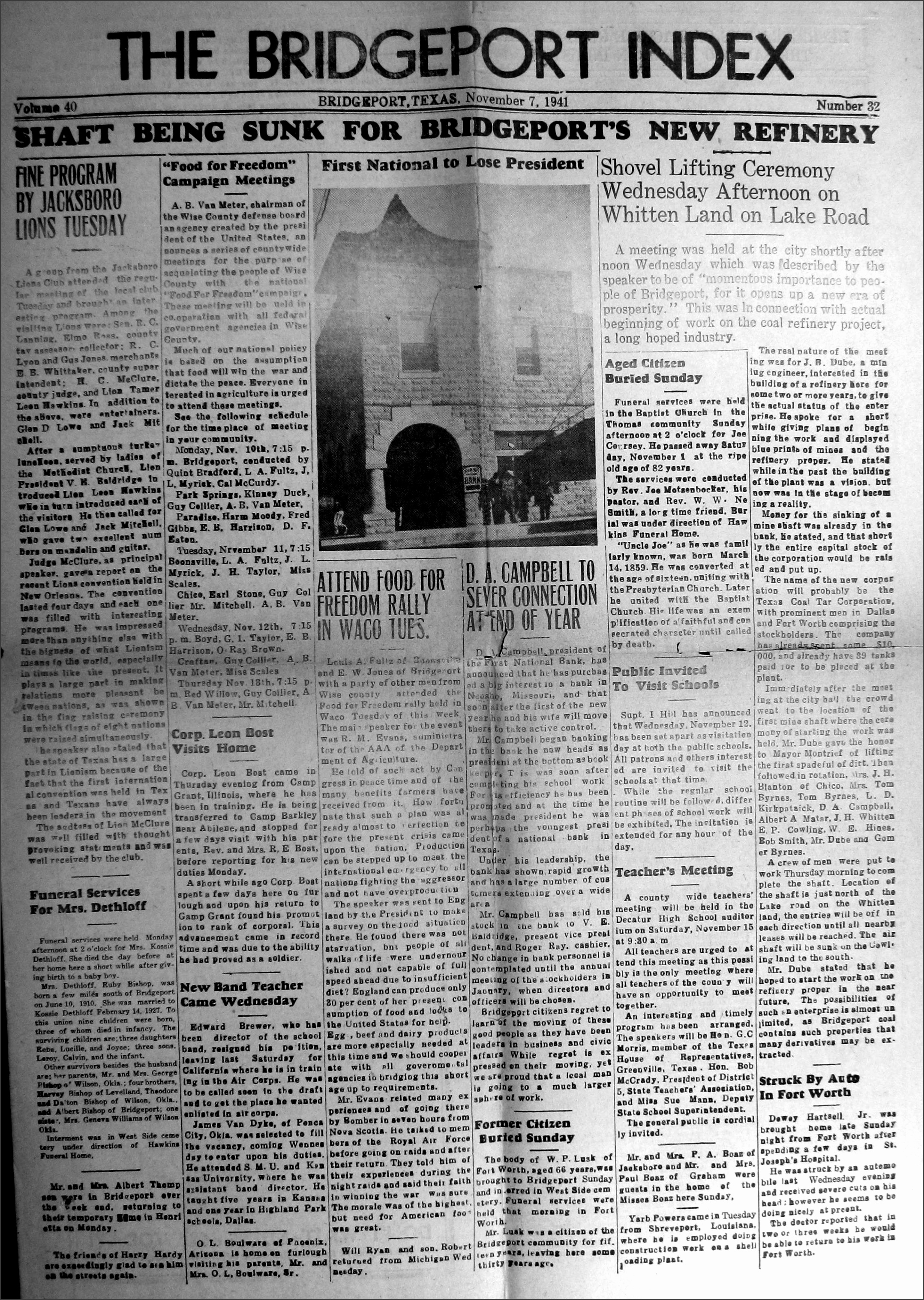 lusk w p obituary 1941 11 07 pg01