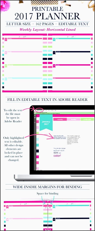 2017 planner weekly 2017 weekly planner 2017 planner printable personalized planner 2017