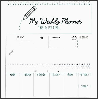 cupcakes kisses weekly desk calendar daily planner blank spiral one year 2018 calendars