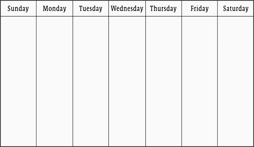 two week calendar template return to weekly plan professional gallery