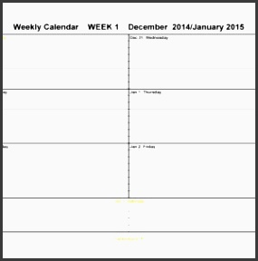 2016 free weekly calendar templates a part of under other templates