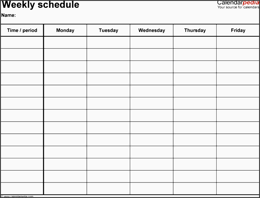 one week planner template cronjobbillybullock one week planner template nice