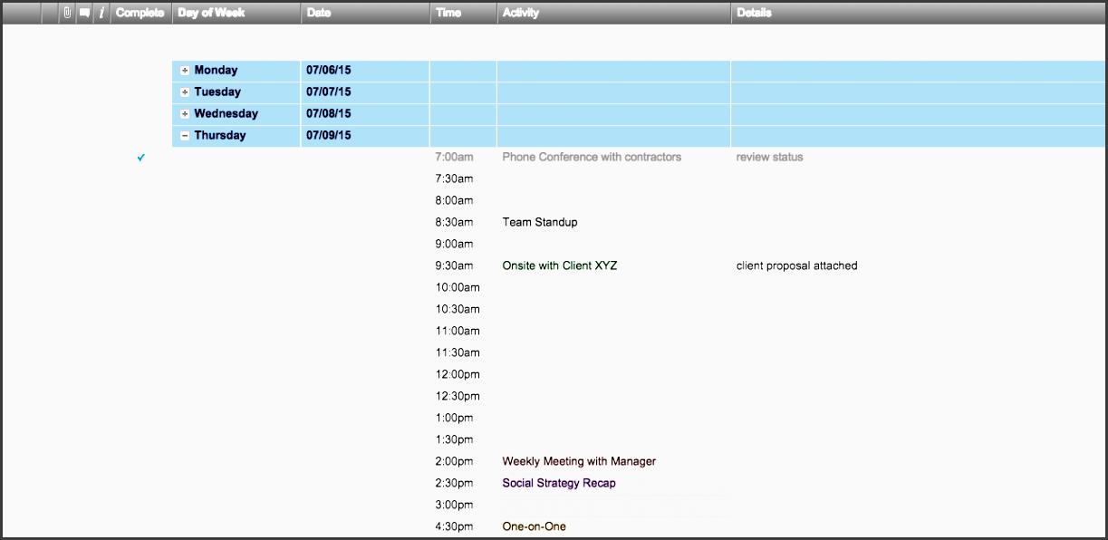 7 weeklyscheduletemplatessmartsheet en these weekly schedule templates