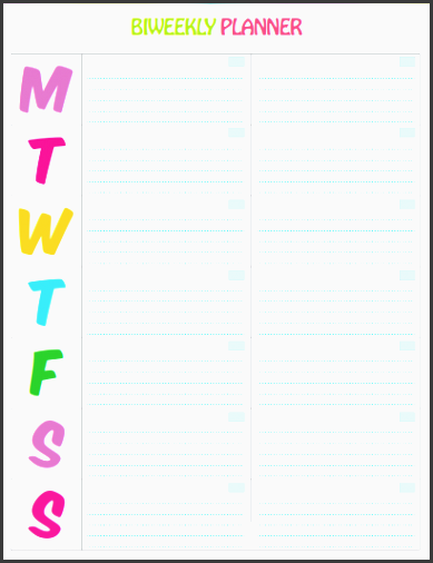 i just love this cute weekly planner printable the colors are vibrant and coordinate with