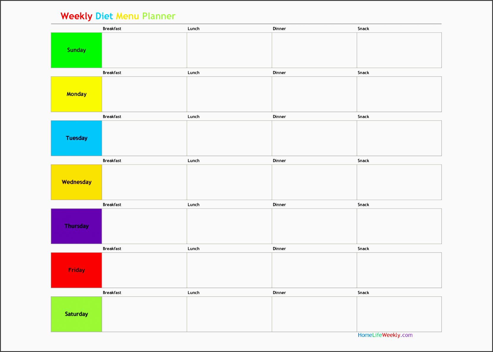 free menu planner template merchandising associate cover letter t weekly meal planner template free menu