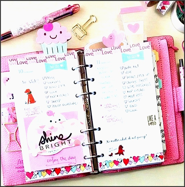 how pretty are my cupcake and coffee clips in carladetaboada planner theangelshoppe