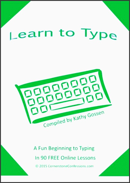 free learn to type online printable lesson plans