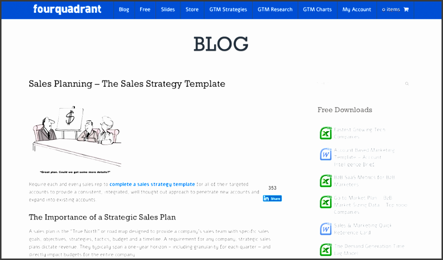 online sales cmo marketing sales strategy four quadrant sales planning the