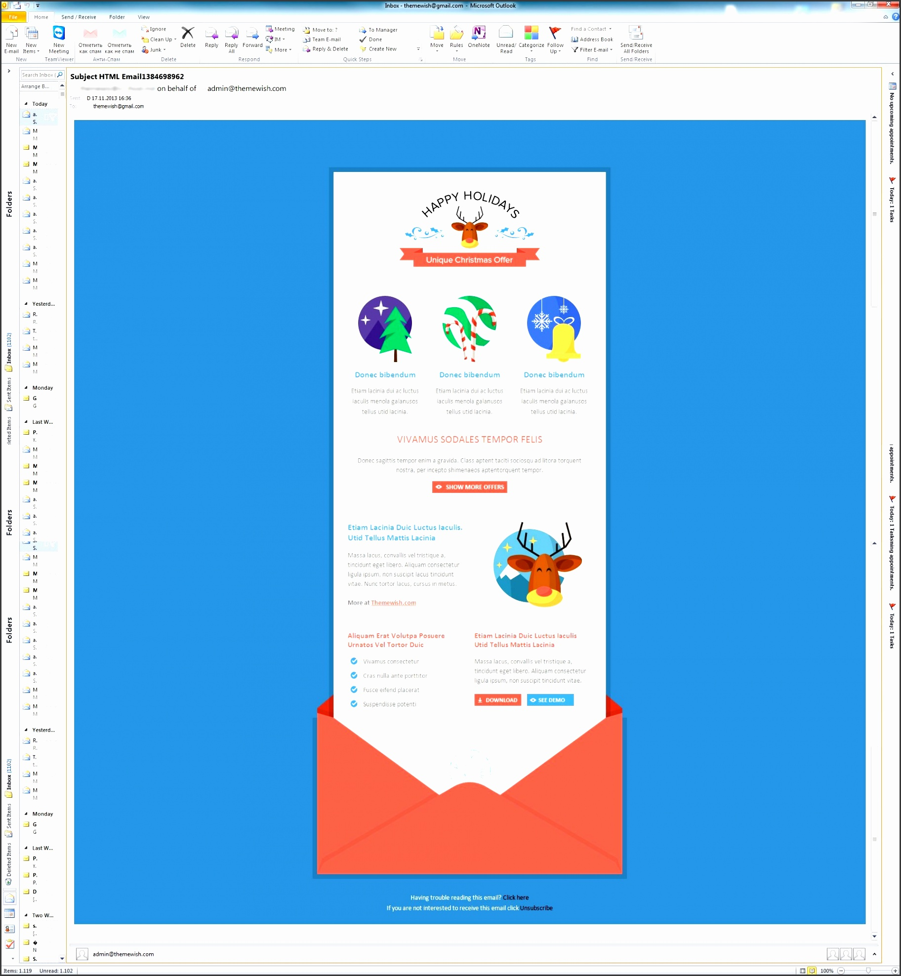 8 outlook newsletter template in excel