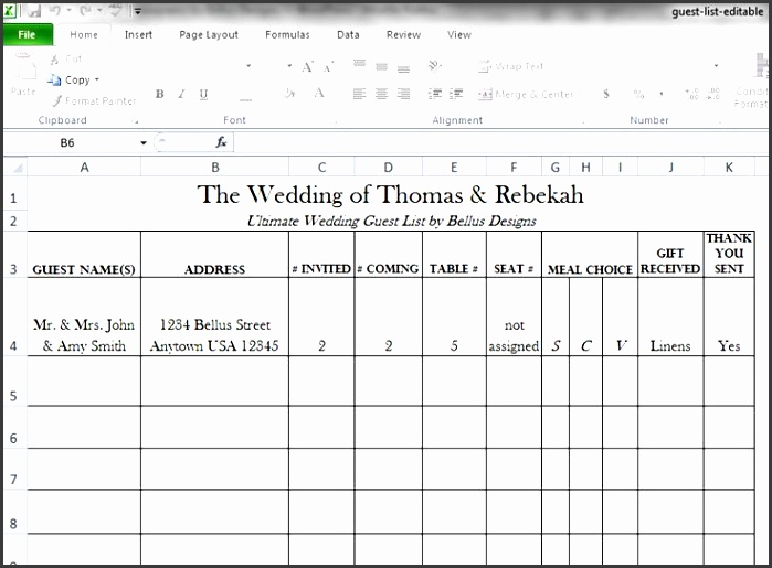 printable wedding guest list two handy guest list templates to keep track of your guests this list wedding pinterest guest list template and
