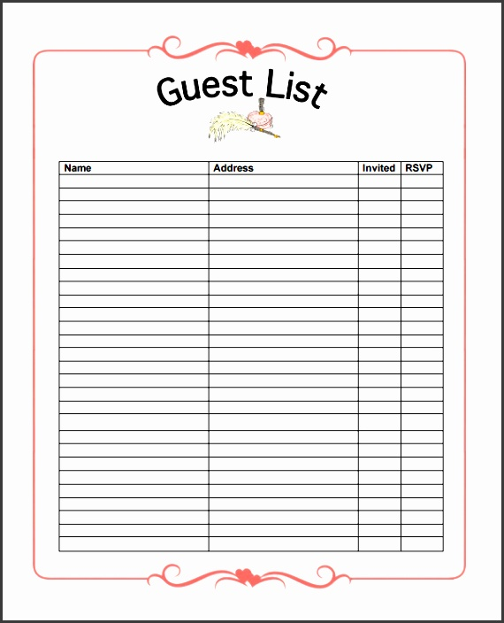 party guest list image 10