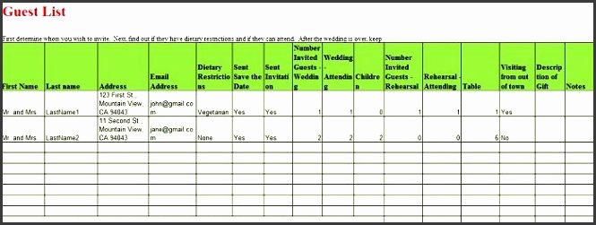printable wedding guest list template 03