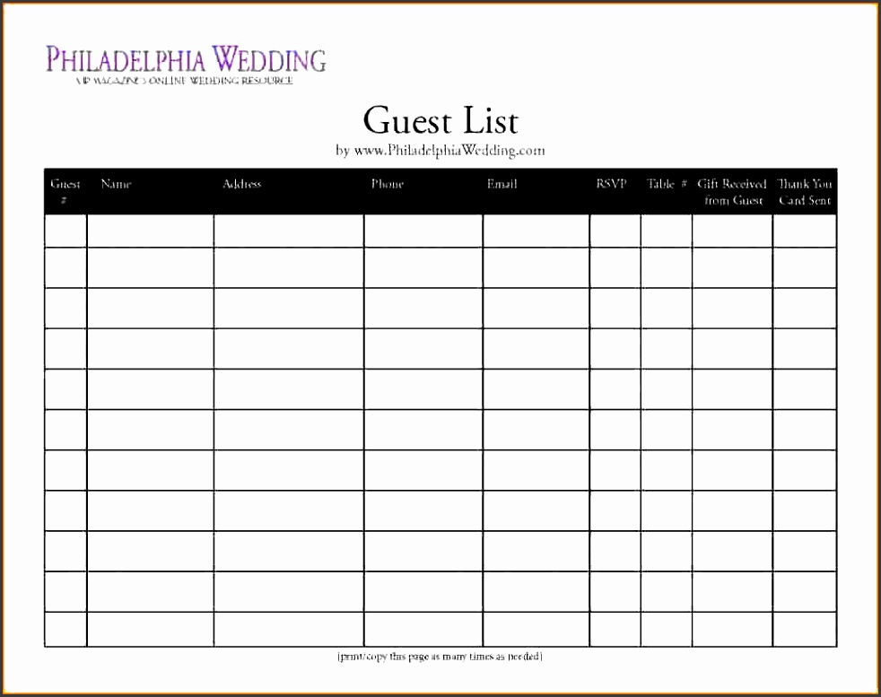 excel party guest list template search results for thank you letter template printable excel party guest list template