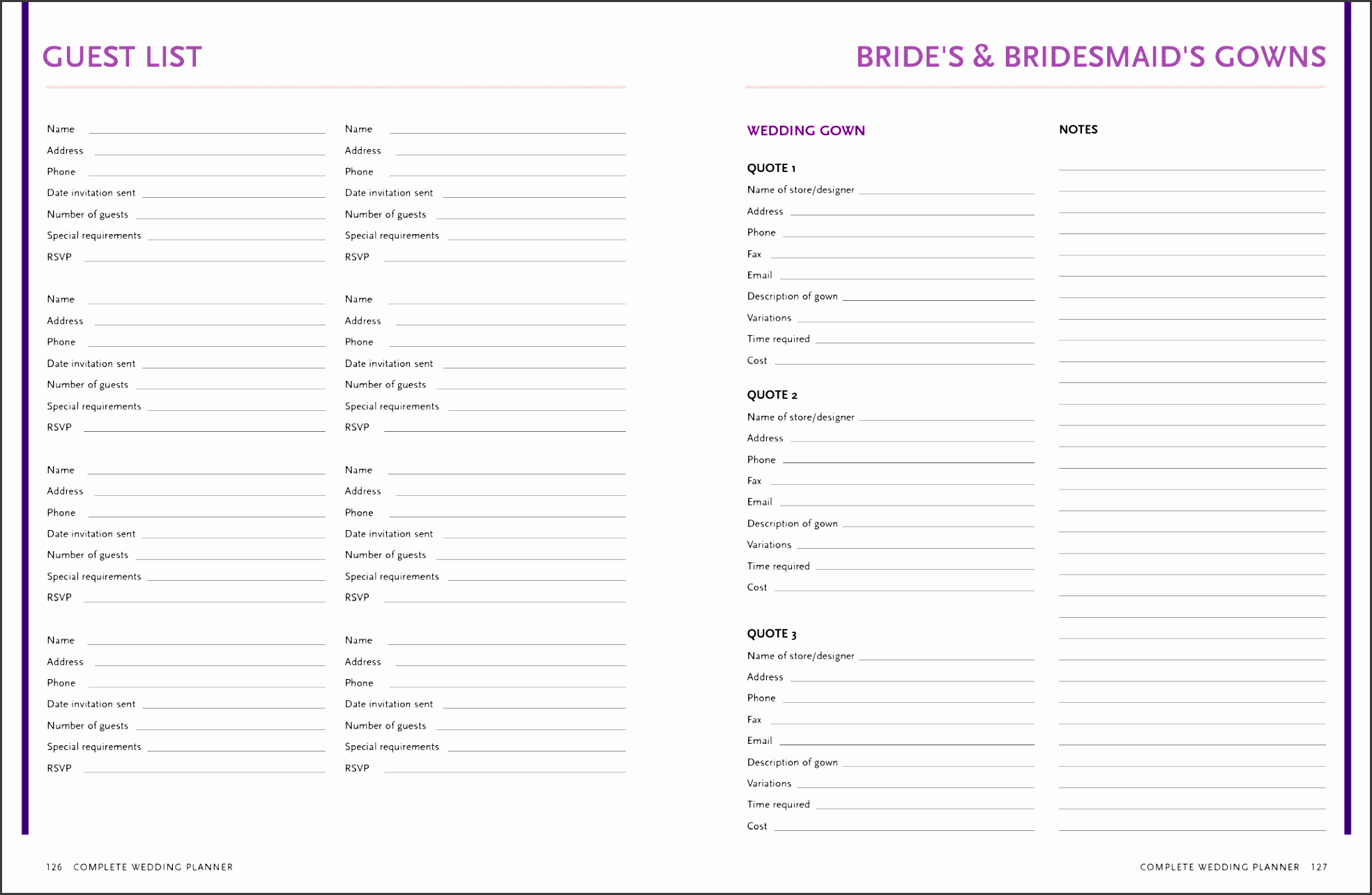 ideas of awesome wedding guest list template easy party guest list template